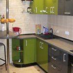 Кухня в двухкомнатной квартире 61,18 м²
