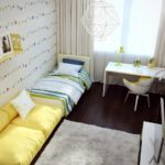 Детская в трехкомнатной квартире 76,3 м²