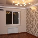 Спальня в двухкомнатной квартире 57,1 м²