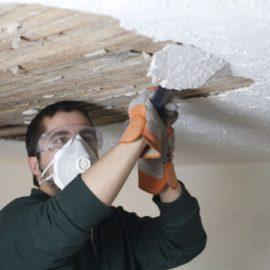 Сбивка штукатурки со стен и потолка